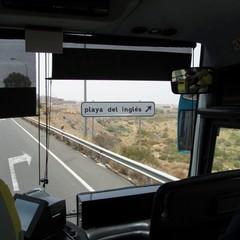 Autobus verso Playa del Ingles a Maspalomas  - Gran Canaria