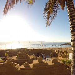 Belen de arena (presepe di sabbia) a Las Palmas