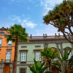Gran Canaria case coloniali a Las Palmas