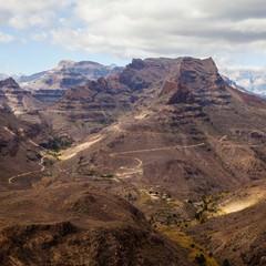 Gran Canaria montagne tra Maspalomas e San Bartolomé de Tirajana