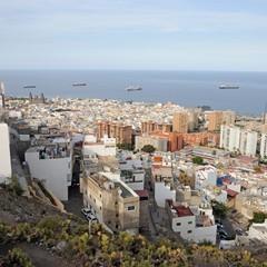 Gran Canaria panorama di Las Palmas
