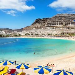 Gran Canaria playa de Amadores Puerto Rico