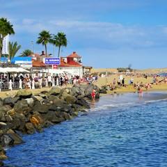 Gran Canaria playa de Meloneras