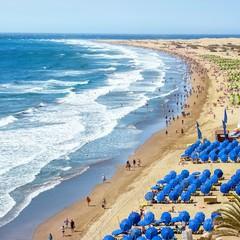 Gran Canaria playa del Ingles Maspalomas