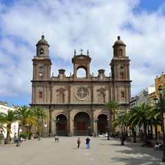 Gran Canaria plaza de Santa Ana a Las Palmas