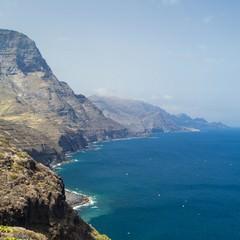 Gran Canaria strada da Puerto de Las Neves a La Aldea de San Nicolas