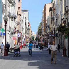 Gran Canaria una strada di Las Palmas