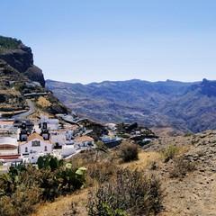 Gran Canaria Villaggio di Artenara