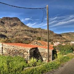 Gran Canaria villaggio di Fataga
