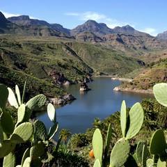 Gran Canaria vista montagne