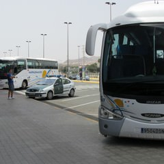 Maspamolas bus all'aeroporto di Las Palmas - Gran Canaria