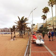 Playa de Las Canteras a Las Palmas