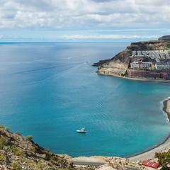 Playa del Cura e Playa del Tauro a Gran Canaria