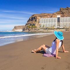 Spiaggia a Taurito