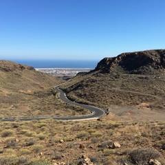 Strada a San Bartolom de Tirajana