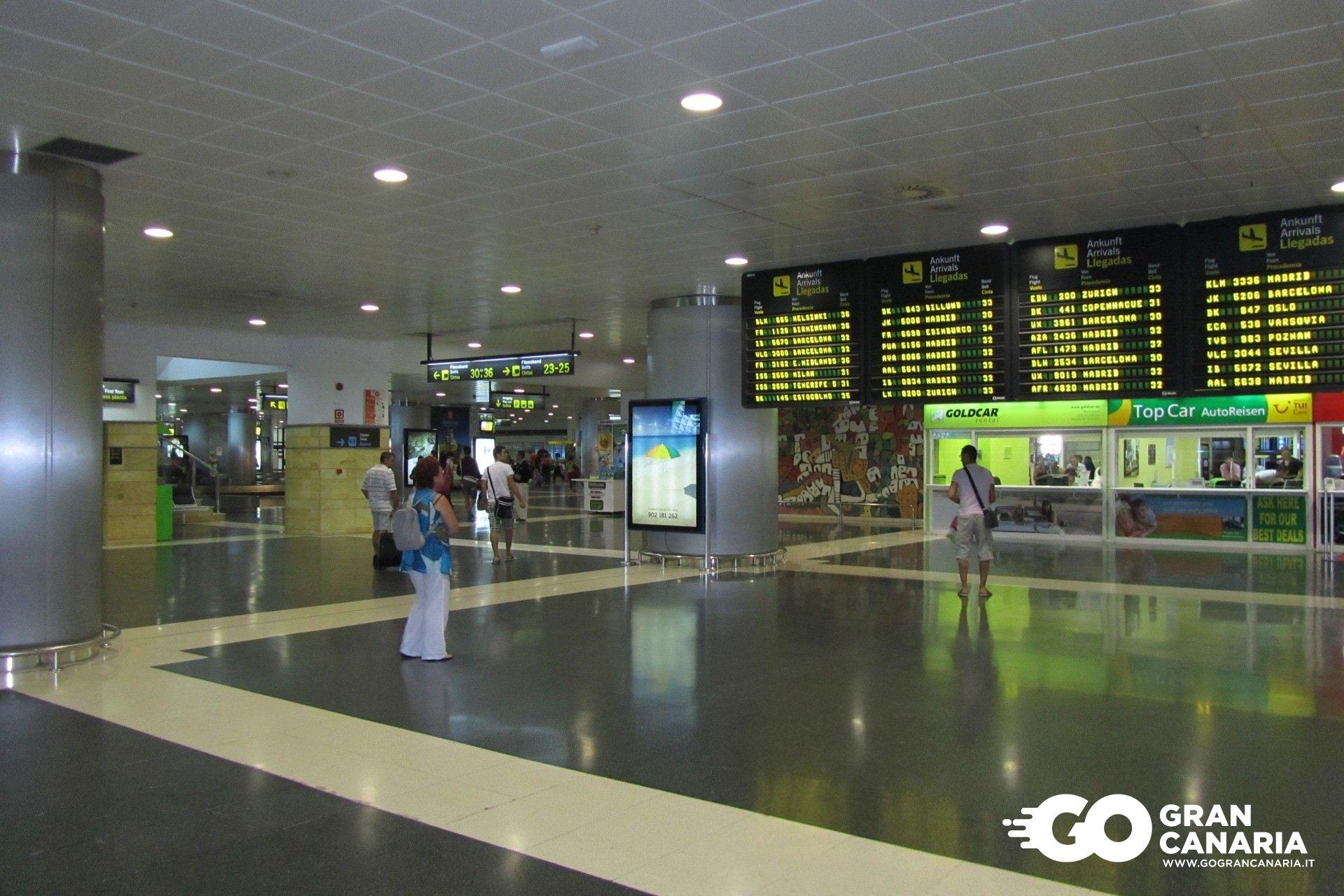 Aeroporto Gran Canaria : Aeroporto di gran canaria