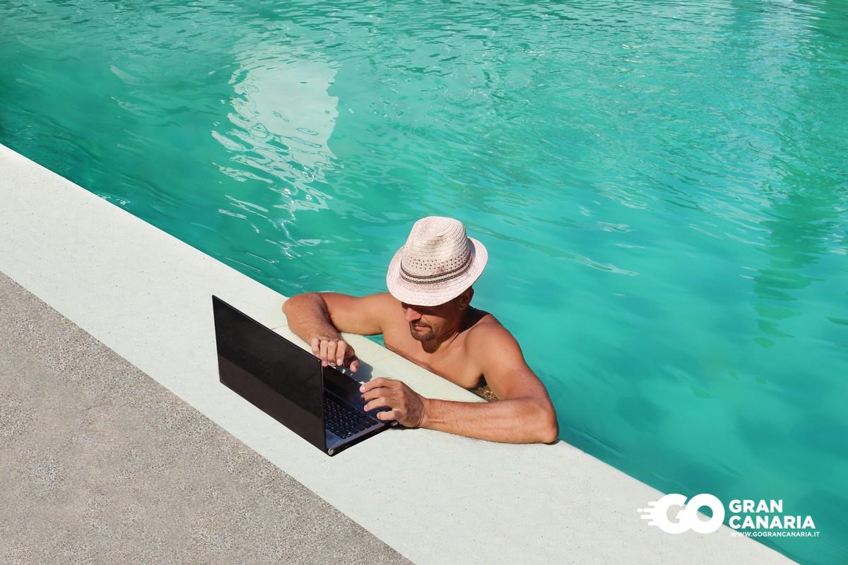 Lavoro smart a Gran Canaria