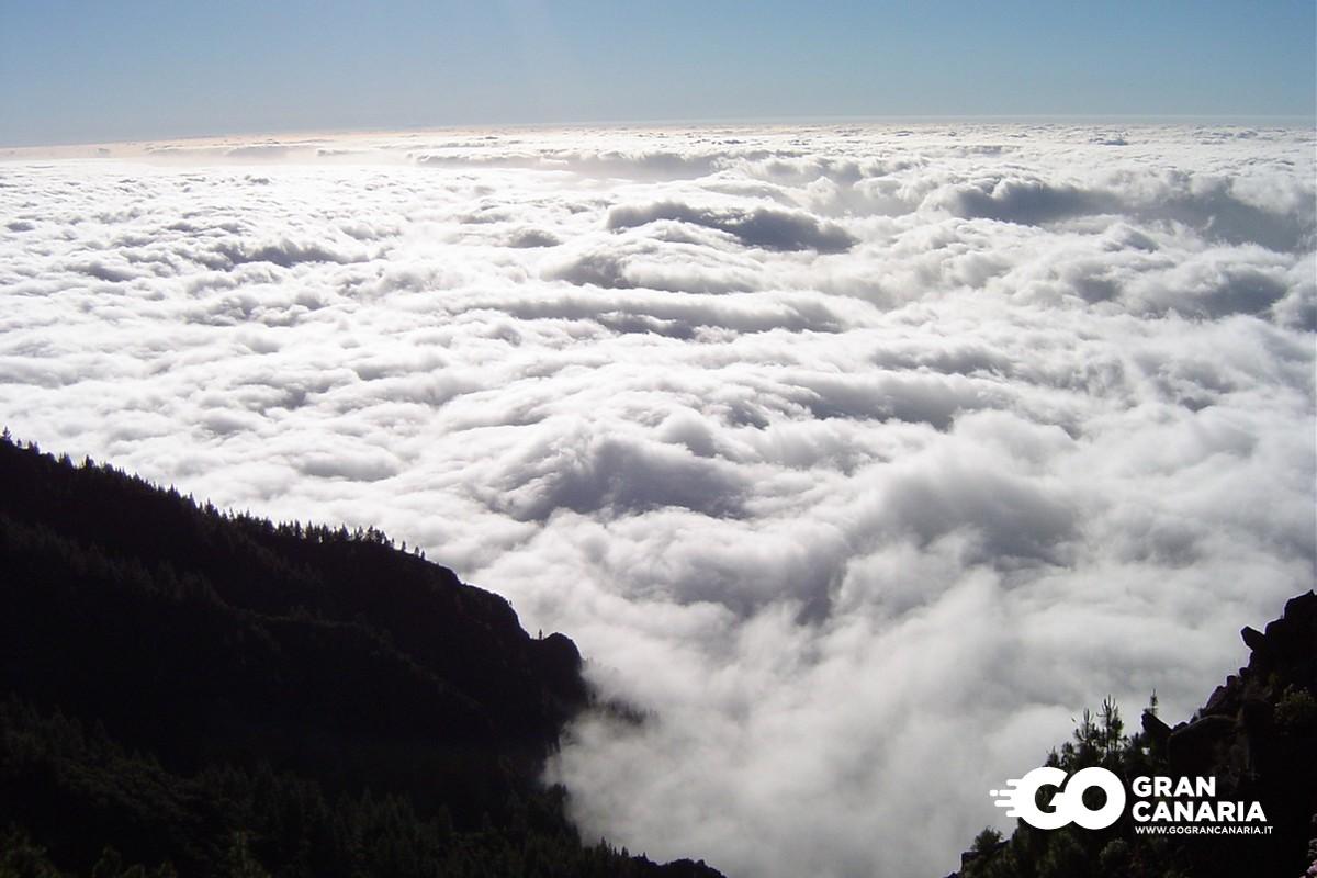 Panza de Burro o mar de nubes