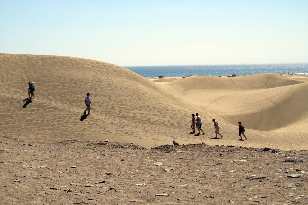Dune di Maspalomas in Gran Canaria (Foto Alessandro Bove)