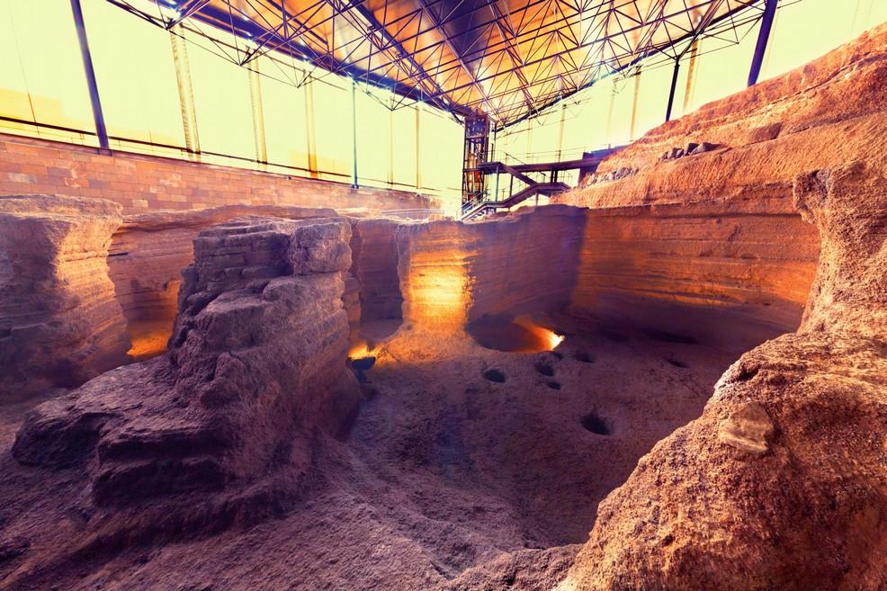 G ldar Parque Arqueol gico Cueva Pintada. <span>Foto Haridian Arnay</span>