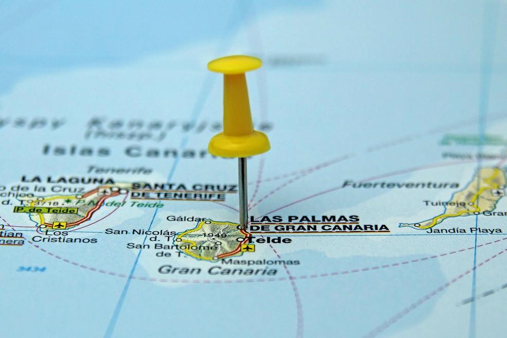 Gran Canaria carta geo