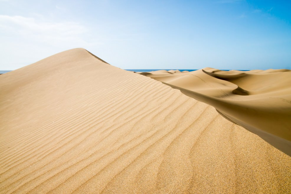 Dune di Maspalomas a  Gran Canaria