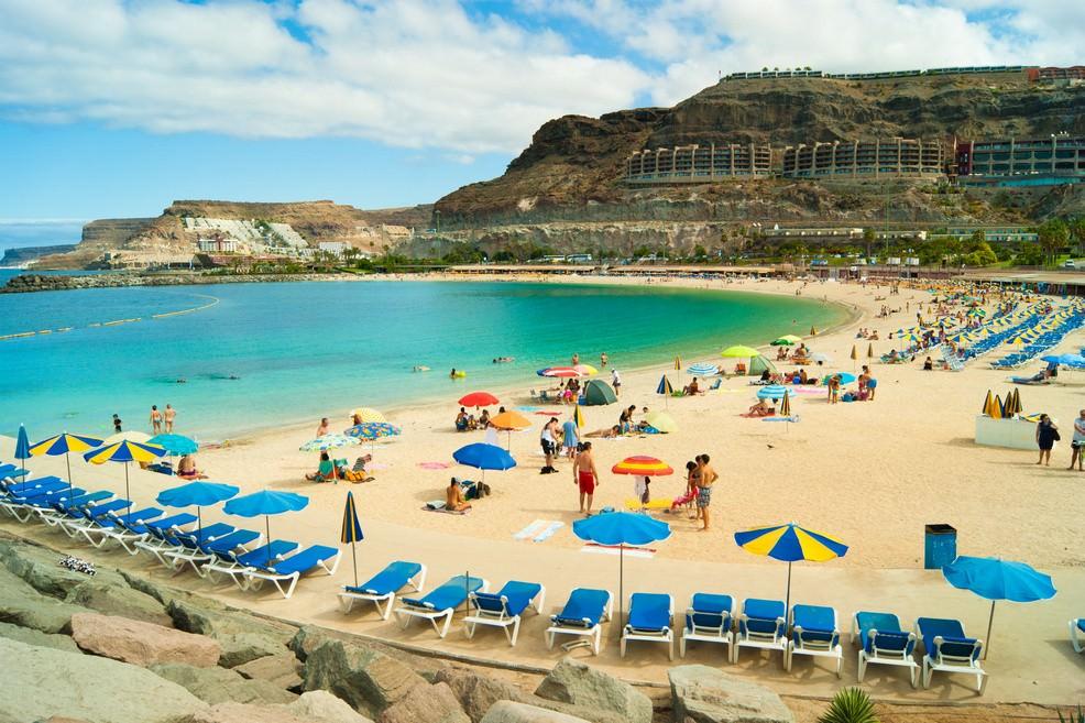 Playa de Amadores a Gran Canaria