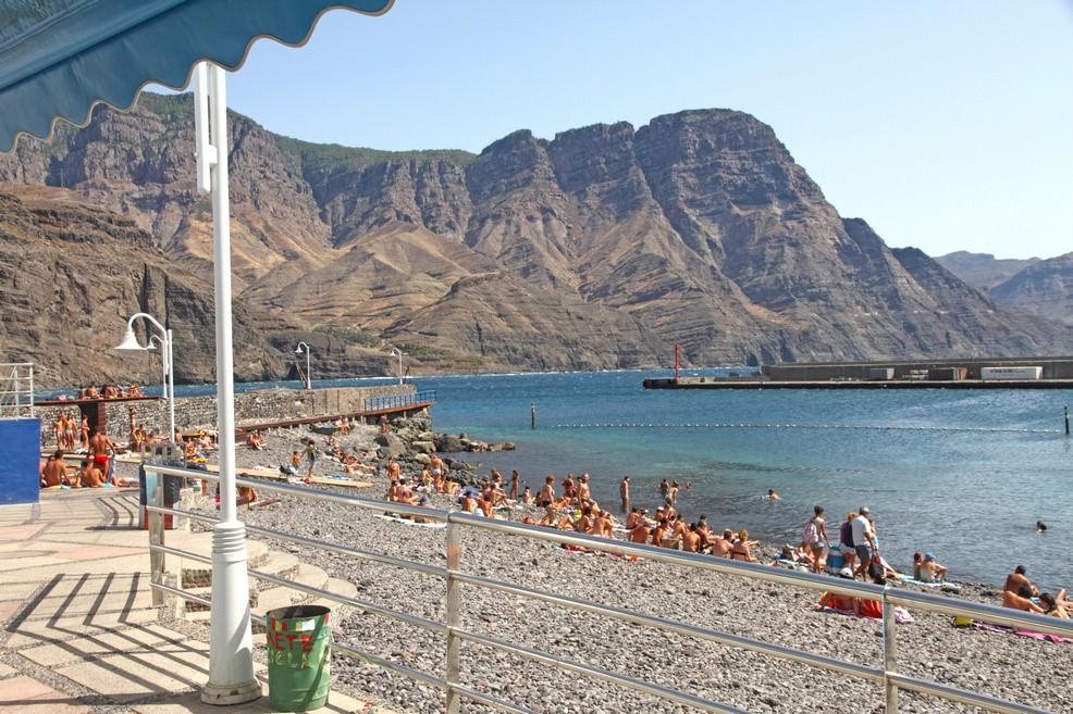 Playa de Las Nieves a Gran Canaria