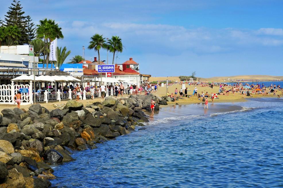 Playa de Meloneras -a Gran Canaria