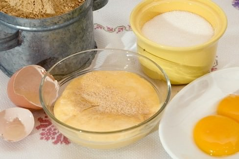 Huevos mole di Gran Canaria