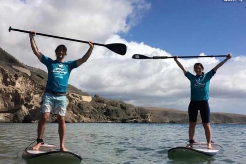 Surf in piedi a Gran Canaria