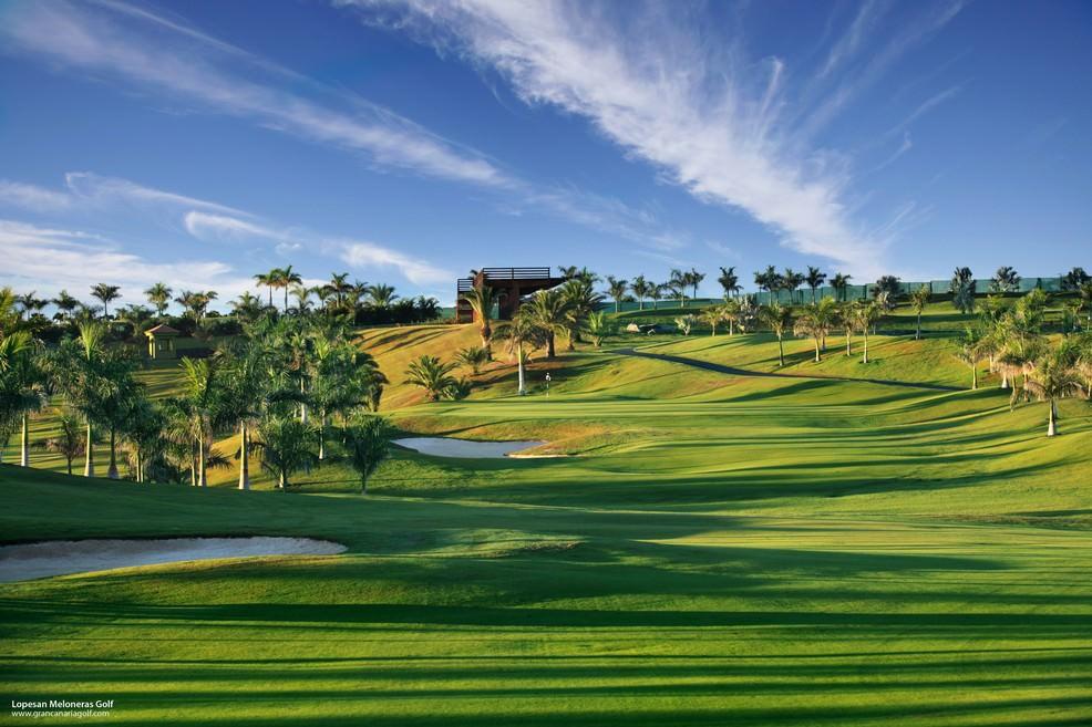 Campo di golf a Meloneras di Gran Canaria