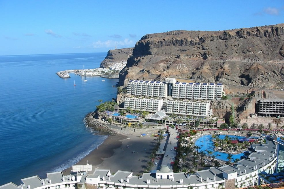 Playa Taurito a Gran Canaria