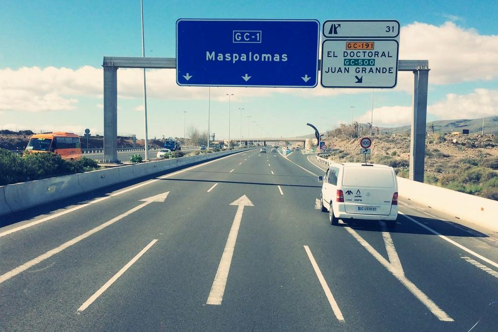 Transfer verso Maspalomas