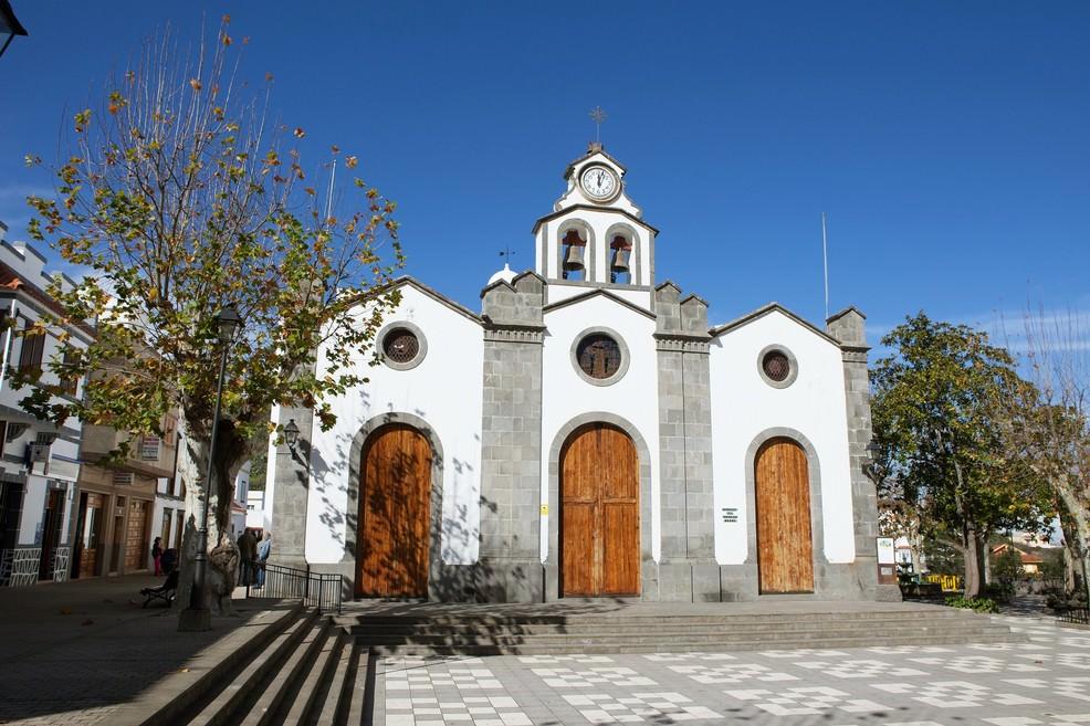 Iglesa de San Vicente Ferrer a Valleseco